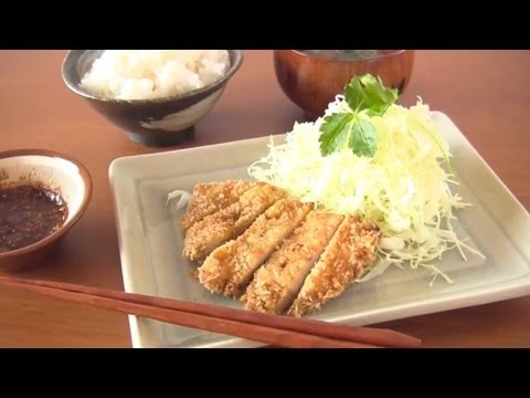 How to Make Tonkatsu (Japanese Pork Cutlet) Recipe とんかつの作り方 (レシピ)