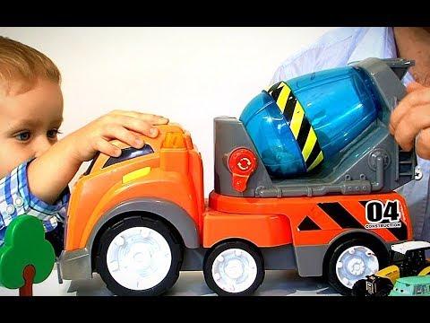 Игрушечные машинки для мальчиков 2018 Видео для детей Детский канал про игрушки Гришка ВотЭтоДа