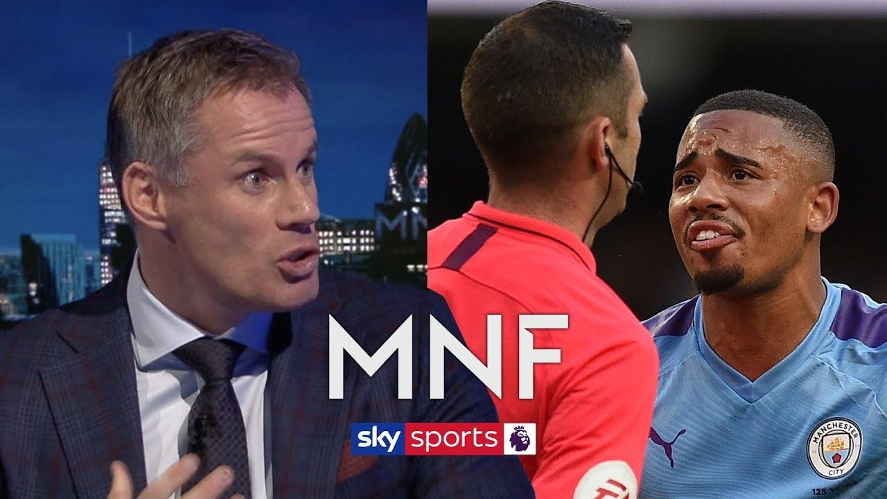 'Disallowing Gabriel Jesus' goal was VAR at its best' - Jamie Carragher & Gary Neville on VAR | MNF
