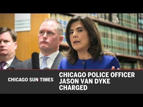 Chicago Police Officer Jason Van Dyke charged
