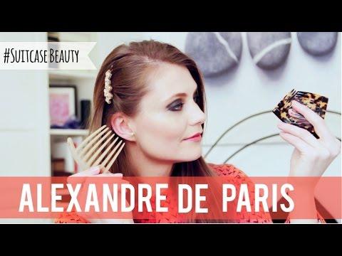 Alexandre de Paris hair accessories   SocialBeautify
