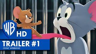 TOM & JERRY - Offizieller Trailer #1 Deutsch HD German (2021)