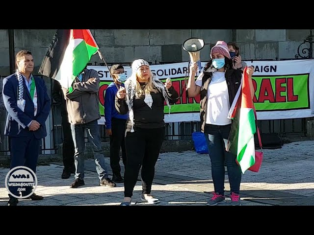 SHEREE CONIBEAR: BARRY RALLY FOR PALESTINE