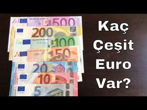 Kaç Çeşit Euro Banknot Var? Euro Çeşitleri
