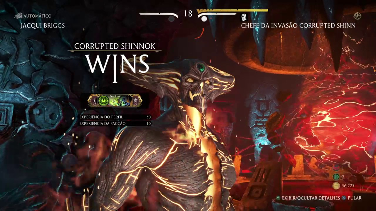 Chefe de Invasão - Corrupted Shinnok MK XL PS4