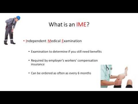 IME and Pennsylvania Workers' Compensation Benefits