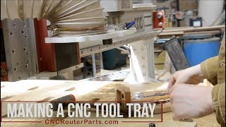 PRO Maker Series: Making a Custom CNC Tool Tray with VCarve Pro (or Aspire)