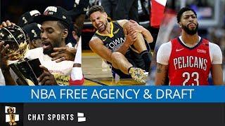 NBA Rumors Mailbag On Free Agency of Kyrie Irving, Kawhi Leonard, Klay Thompson & The 2019 NBA Draft