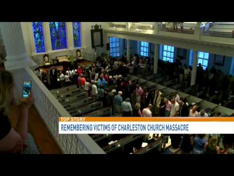 Vigil in D.C. for church shooting victims in Charleston