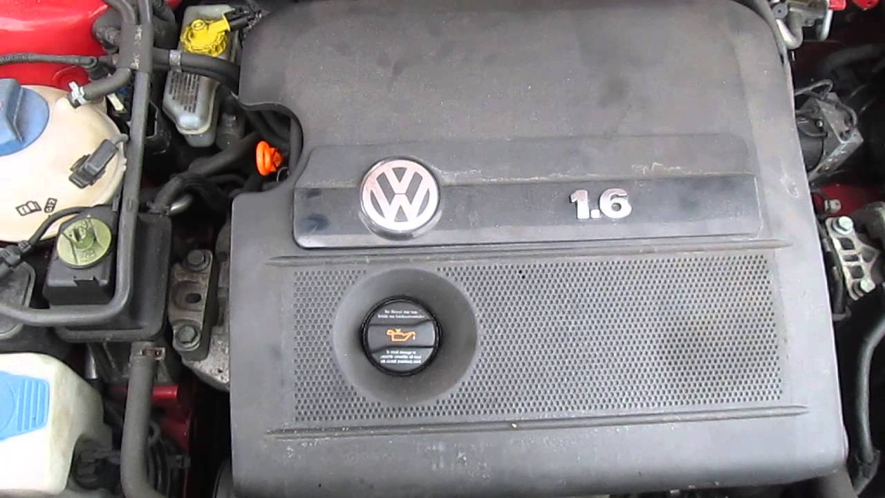 Vw 1.6 petrol engine square frameless mirror
