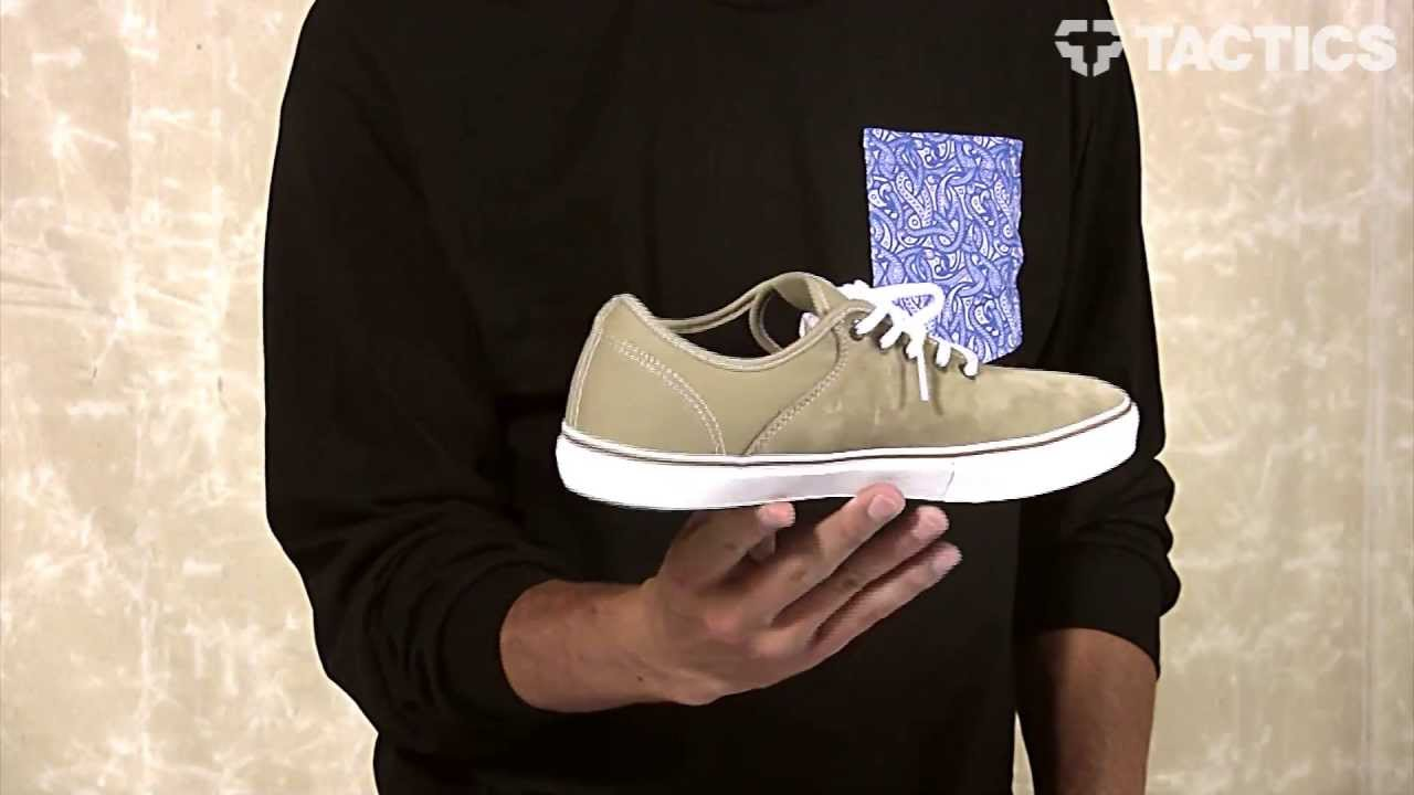 f3c96119f7 Vans Stage 4 Low Skate Shoes Review - Tactics.com - YouTube