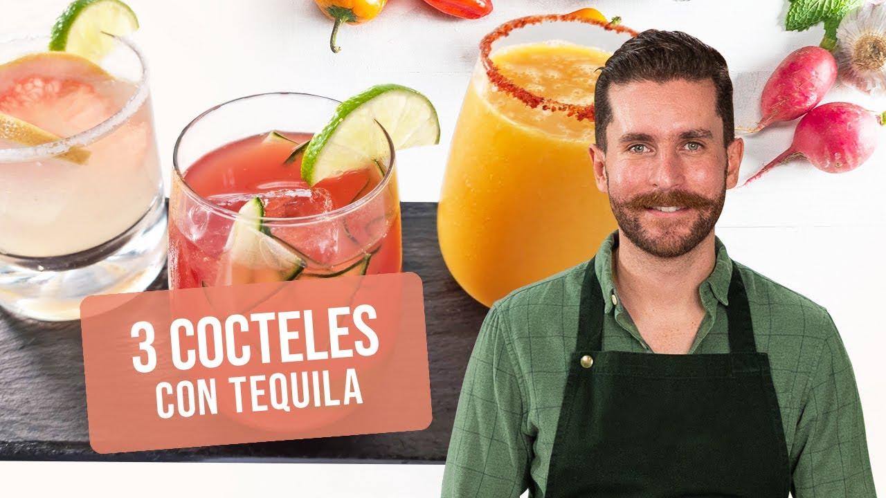 3 cocteles con tequila   Clase de cocina   Recetas Kiwilimón
