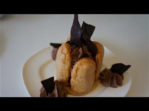 Recette facile et rapide de la charlotte au chocolat youtube - Charlotte au chocolat facile ...
