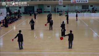 NAGASAKI vs GUNMA 10th All Japan Interprefecture Ladies KENDO Championship 2018 3rd Round