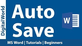 How to change MS Word Auto Save Frequency   Auto Recover Interval