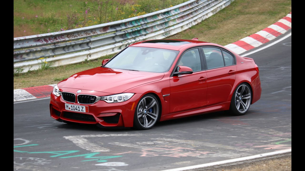 2015 F80 BMW Melbourne Red M3  Surviving the Nurburgring  YouTube