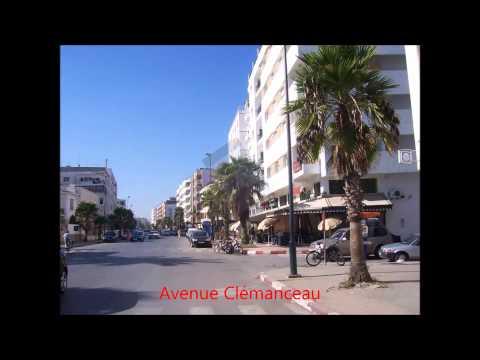 Rabat et le quartier de l'Océan Maroc
