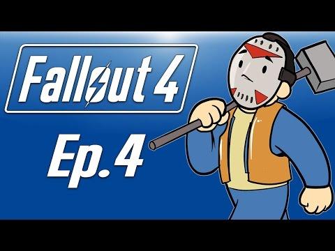 Delirious plays Fallout 4! Ep. 4 (Kill the raiders in Corvega!) Base Building!
