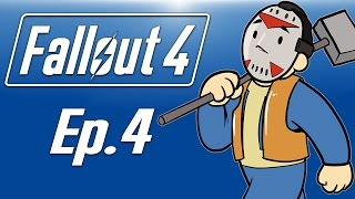 Delirious plays Fallout 4! Ep. 4 (Kill the raiders in Corvega!) Base Building!