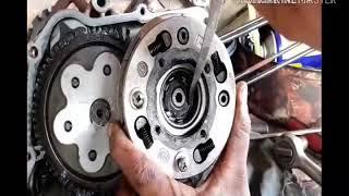 Como desarmar un motor 110