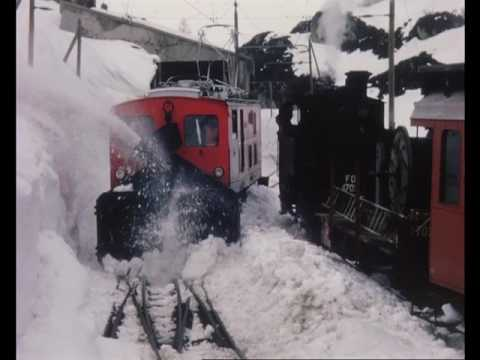 The Snow Train, Railway Roundabout (series), 1963 (extract)