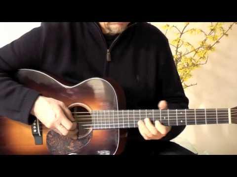 Lasse Johansson, guitar, plays King Porter Stomp