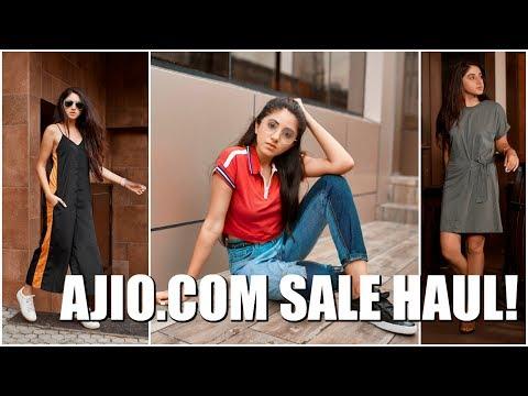 Ajio.com Sale Clothing Haul + Lookbook | Aashna Shroff