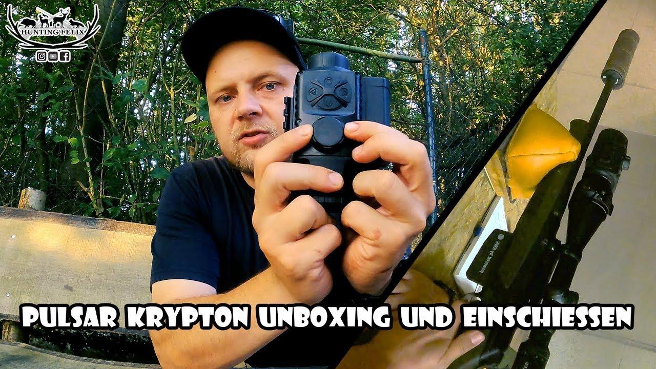 Download Pulsar Krypton unboxing und Einschießen