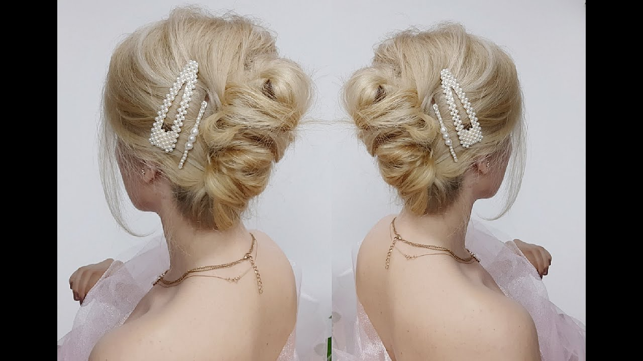 SUPER EASY LAZY HAIRSTYLE PARTY OR DAILY FAST FRENCH TWIST ...  Hispanic Hair Lazy Bun