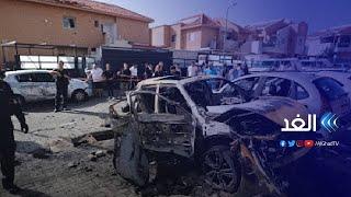 شاهد آثار الدمار بقاعدة عسكرية إسرائيلية قرب بئر السبع بعد قصفها بعدة صواريخ للفصائل الفلسطينية