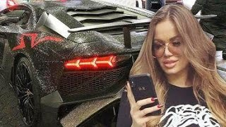 MEET THE GIRL WHO OWNS A DIAMOND COVERED LAMBORGHINI!