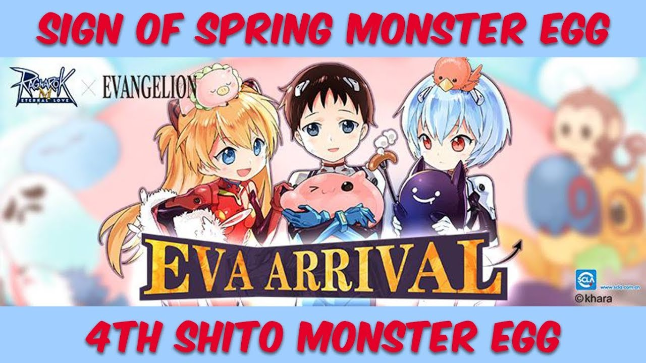 Ragnarok Mobile: 4th Shito Monster Egg / Sign of Spring Monster Egg (UPDATE)