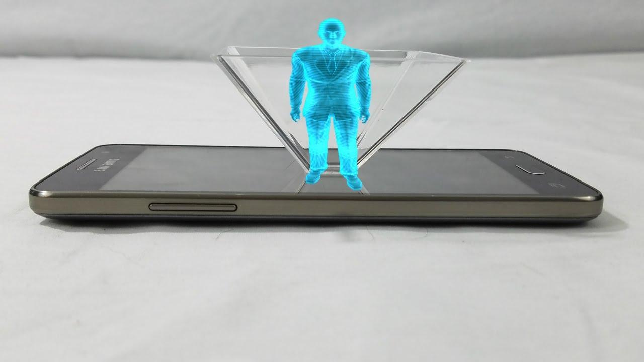 REAL 3D HOLOGRAM! Spectre 3D Hologram Projector Review
