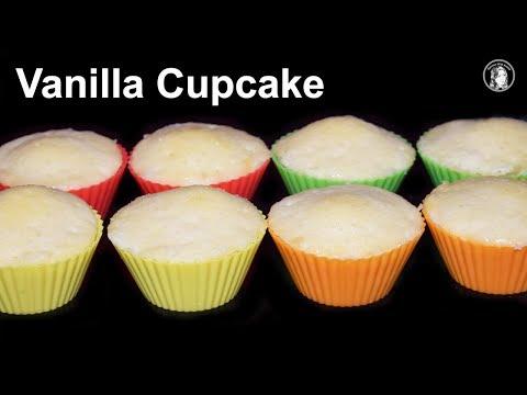 Vanilla Cupcake In Minute Microwave
