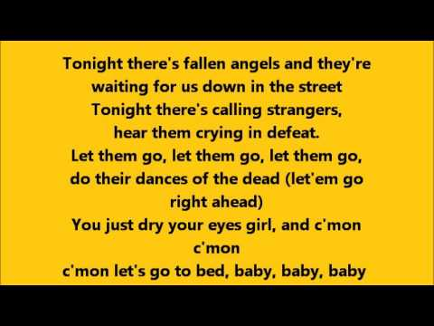 Bruce Springsteen - Drive All Night with Lyrics