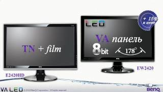обзор VA LED монитора BenQ EW2420