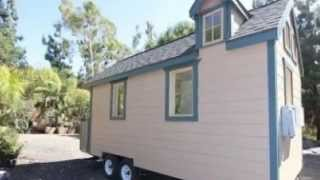 Custom Tiny Cottage On Wheels For Sale
