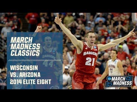 Wisconsin vs. Arizona: 2014 Elite Eight   FULL GAME