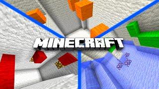 Minecraft RAINBOW CHAMBERS PARKOUR! - w/PrestonPlayz, MrWoofless & Lachlan