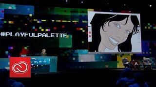 #PlayfulPalette: Adobe MAX 2017 (Sneak Peeks) (Sneak Peeks) | Adobe Creative Cloud thumbnail