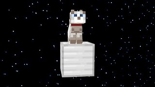 I Sent My Cat To SPACE in Minecraft Hardcore..