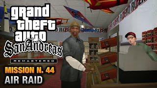 GTA San Andreas Remastered - Mission #44 - Air Raid (Xbox 360 / PS3)