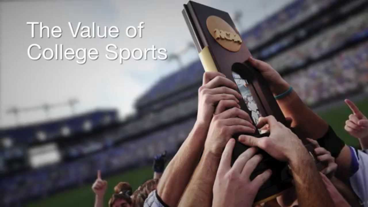 the value of college sports youtube