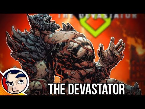 "DC Metal Devastator ""Batman Becomes Doomsday & Kills Superman"" - Rebirth Complete Story"