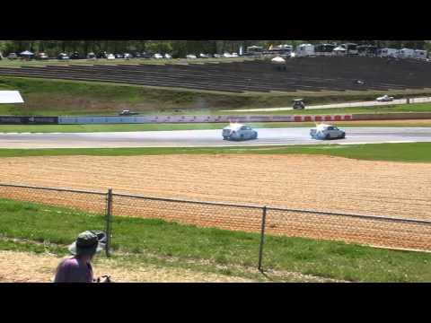 BMW M5 Drifting at Road Atlanta Before the Grand Am Race