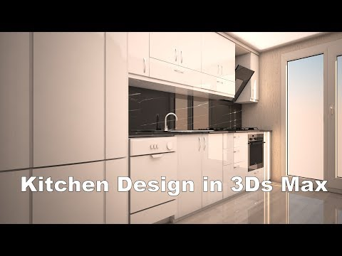 Simple Kitchen Modeling In 3Ds Max Using Vray