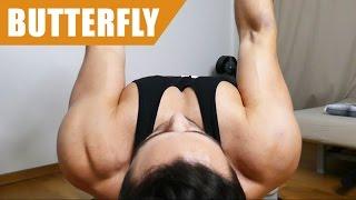 Butterfly - Richtige Ausführung (Brust spüren)