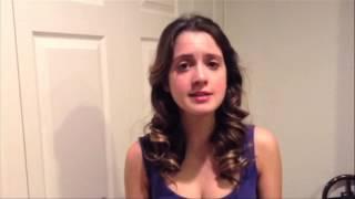 UNICEF USA: Laura Marano -Live Below the Line