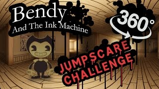 Bendy And The  Nk Machine 360 Jumpscare Time