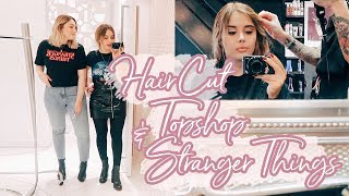 STRANGER THINGS + HAIR CUT + COME ONLINE SHOPPING WITH ME  | Hello October Vlogtober Day 28